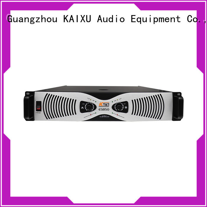 KSA transistor power amplifier factory direct supply for speaker