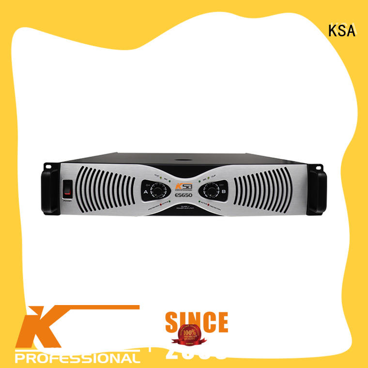 KSA power amplifier class h professional for stage