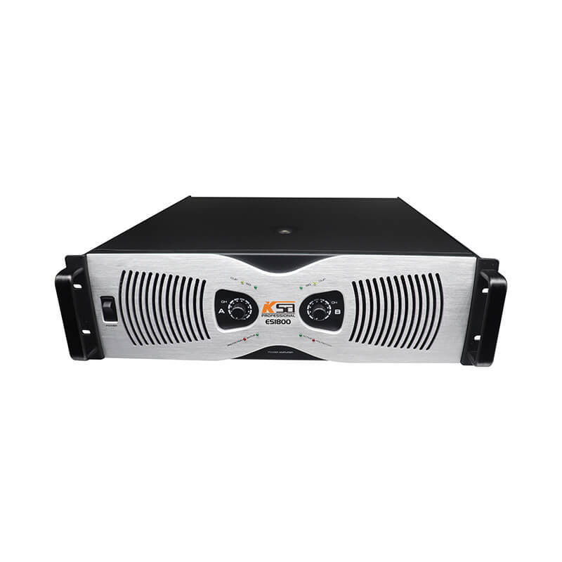 KSA factory 3U ES1800W best power amplifier made in china