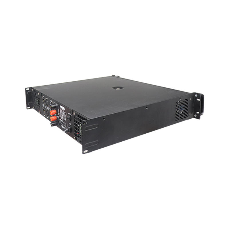 High performance ES650 watts transistor professional analog power amplifier