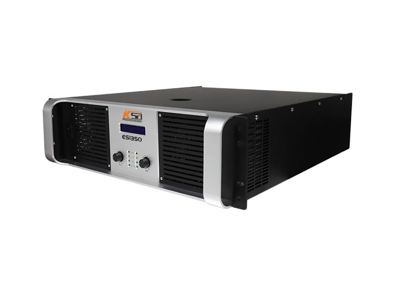 Good price 3U two channel strong circuit professional power amplifier with LCD.