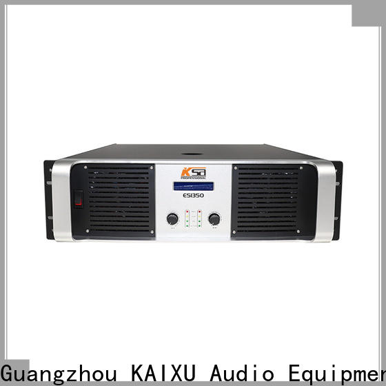 KSA top quality class e power amplifier manufacturer for stage