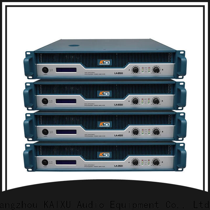 KSA cost-effective stereo audio amplifier series for bar
