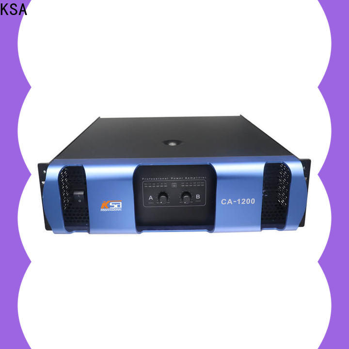 KSA professional power amplifier company for bar