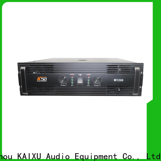 high-quality home stereo amplifier with good price for club