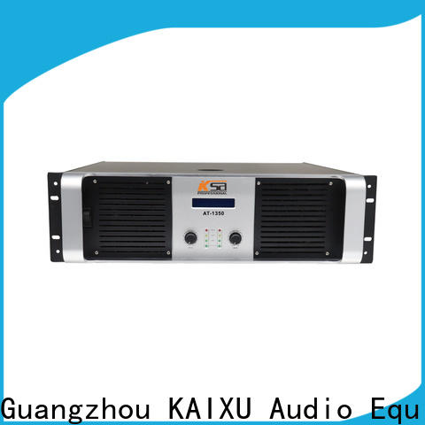 KSA reliable stereo amplifier supply for stage