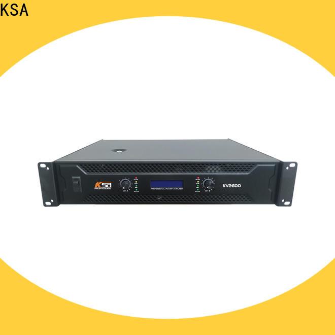 KSA promotional hf power amplifier from China for speaker