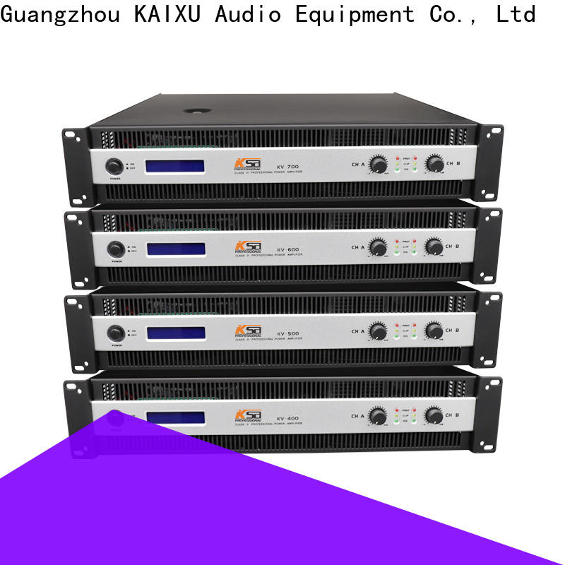 low-cost precision power amplifier suppliers karaoke equipment