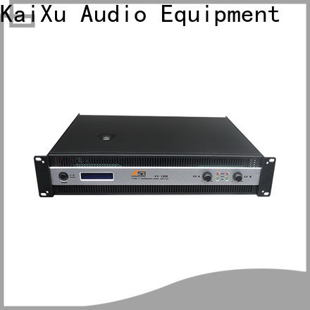 quality precision power amplifier company for night club