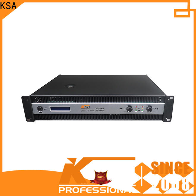 KSA 4 channel amp home theater supplier bulk production