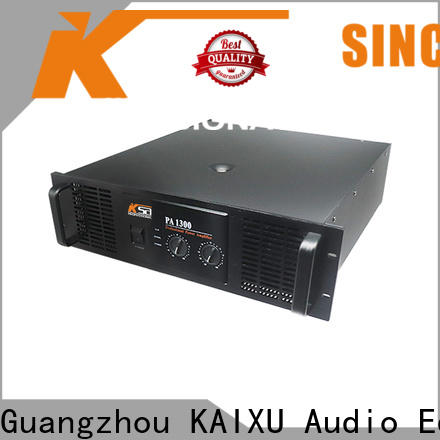 KSA pro audio amplifier from China for night club