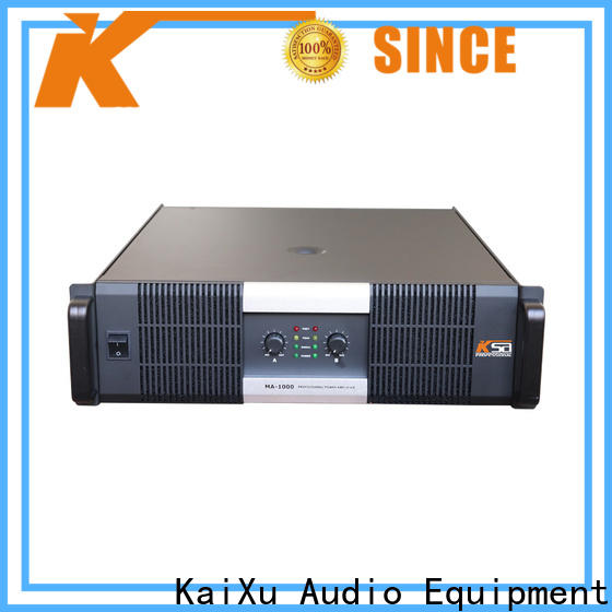 KSA best price stereo amp from China for bar