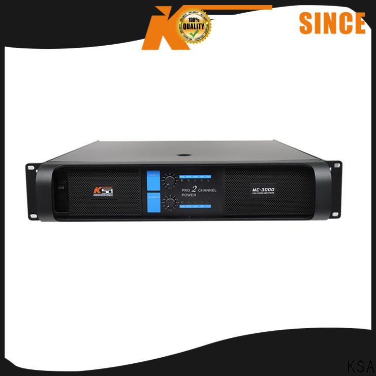 KSA audio power amplifiers factory for transformer