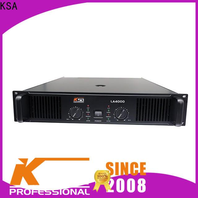 KSA best stereo audio amplifier series for transformer