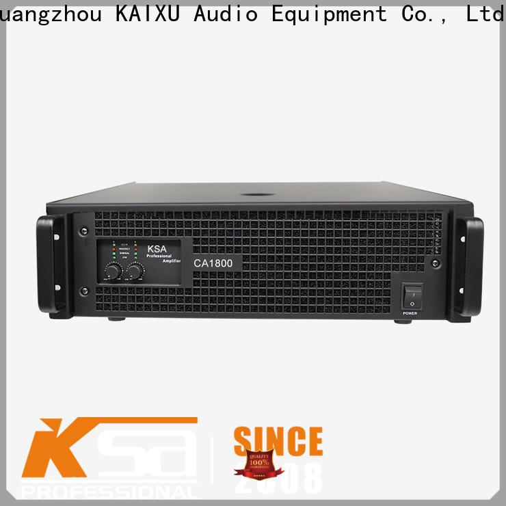 KSA latest professional amplifier for sale company bulk buy