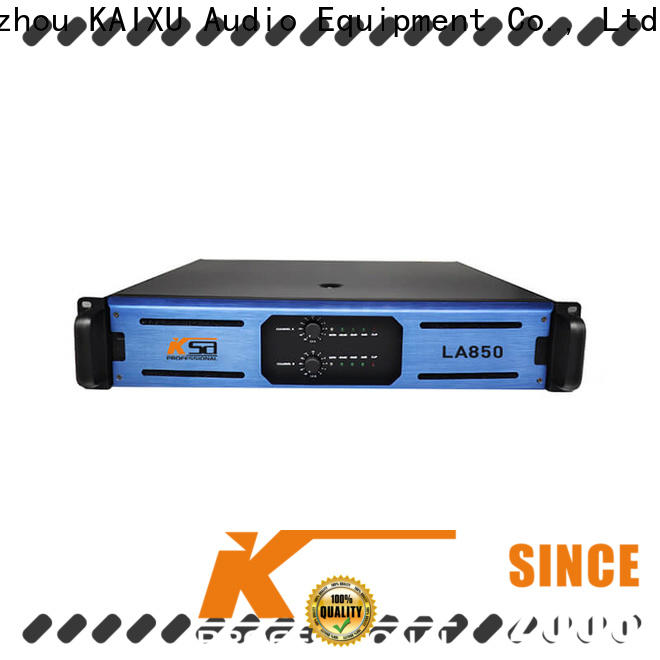 KSA high-quality high power home stereo amplifier directly sale for bar