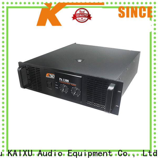 KSA basic audio amplifier suppliers for night club