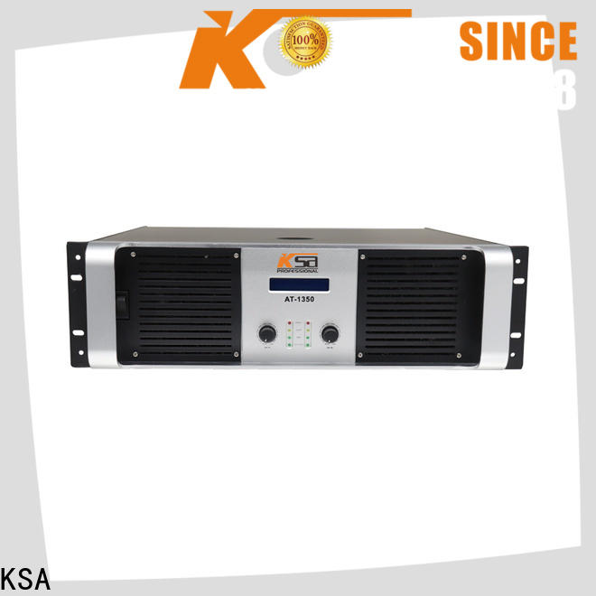 KSA factory price high power amplifier inquire now for speaker