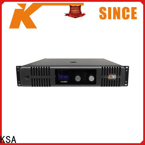 KSA home theater sound amplifier factory for promotion