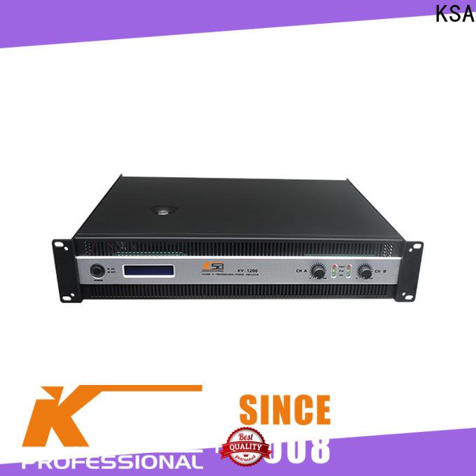 KSA best value power amplifier directly sale for night club