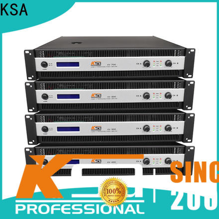 KSA best price best power amps for live sound suppliers for promotion