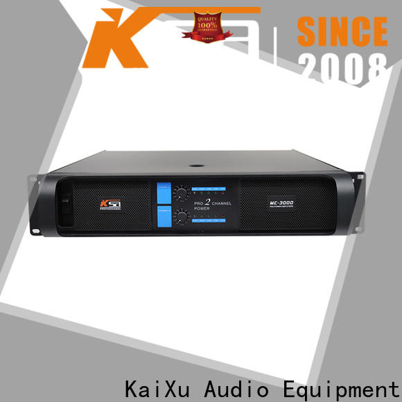 KSA audio amp factory for promotion