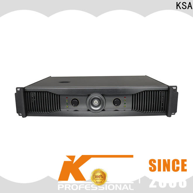 KSA amplifier for pa system
