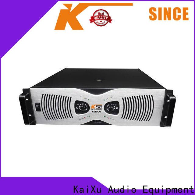 KSA power amplifier class h best manufacturer for speaker
