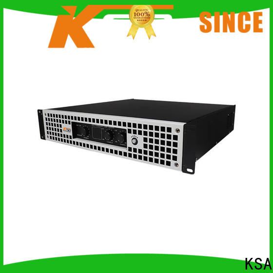 KSA durable power precision amp company for night club