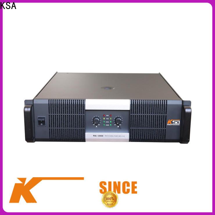KSA home audio amplifier with good price outdoor audio