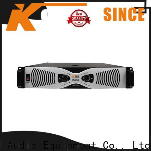 KSA power amplifier class h supplier for classroom