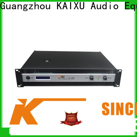 KSA precision power amplifier directly sale for club