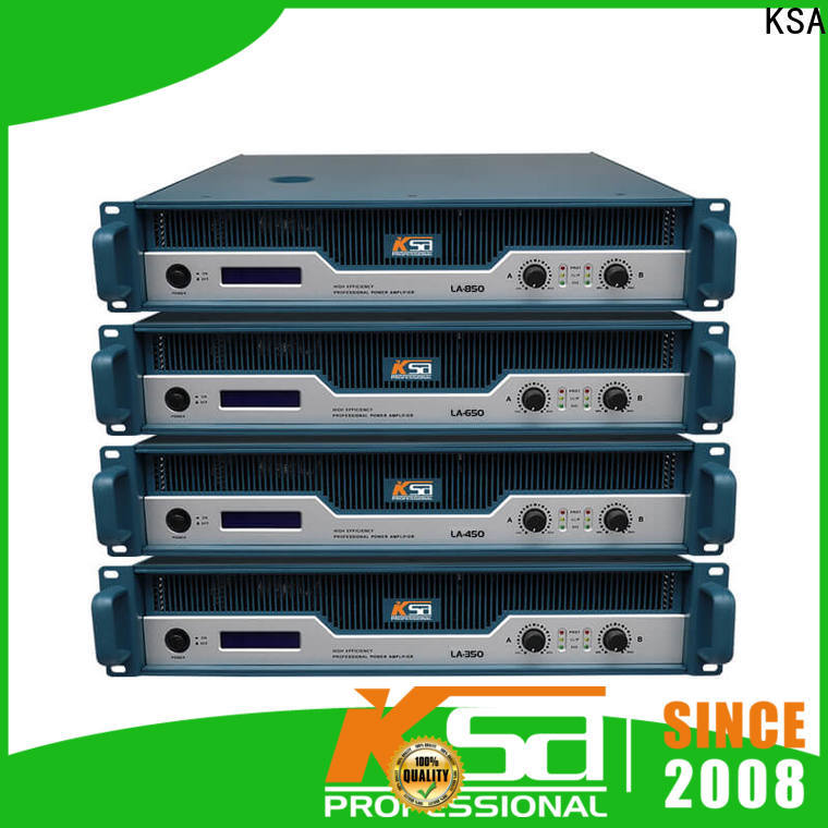 KSA good power amps factory direct supply for bar