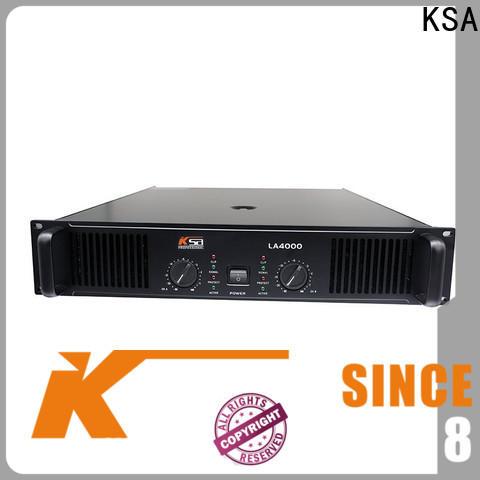 KSA practical live sound power amplifier best manufacturer for speaker