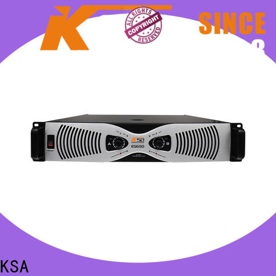 KSA transistor power amplifier factory for stage