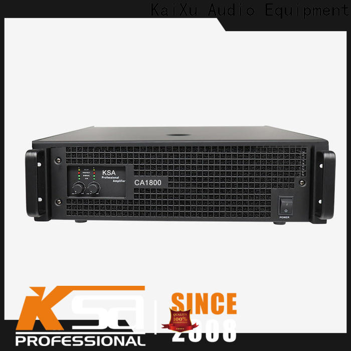 KSA quality professional power amplifier china manufacturer for ktv