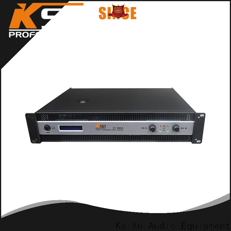 KSA best power amplifier for dj factory direct supply for speaker