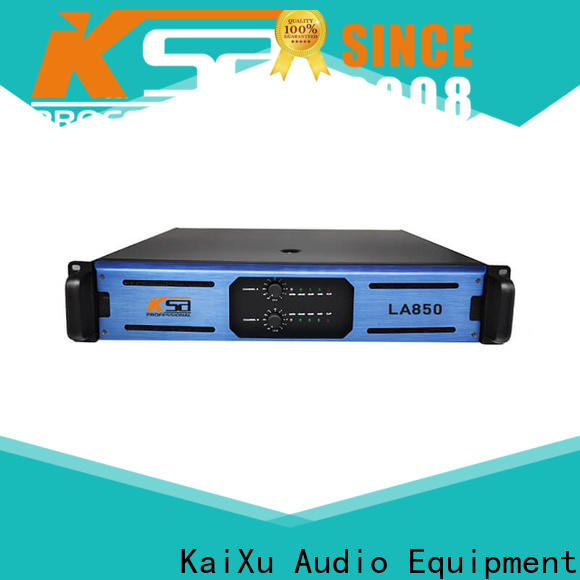 KSA low power stereo amplifier company for night club