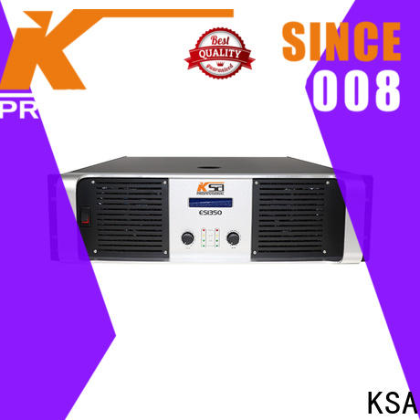 KSA best price cheap power amplifier factory direct supply for sale