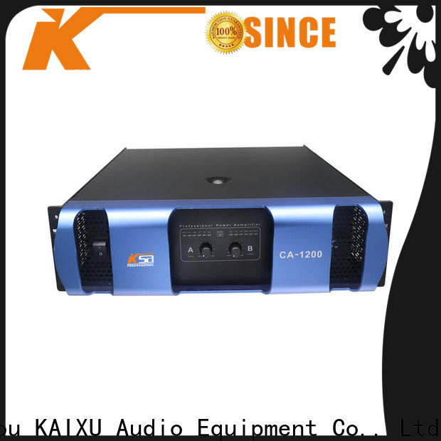 KSA hot selling live power amp with good price