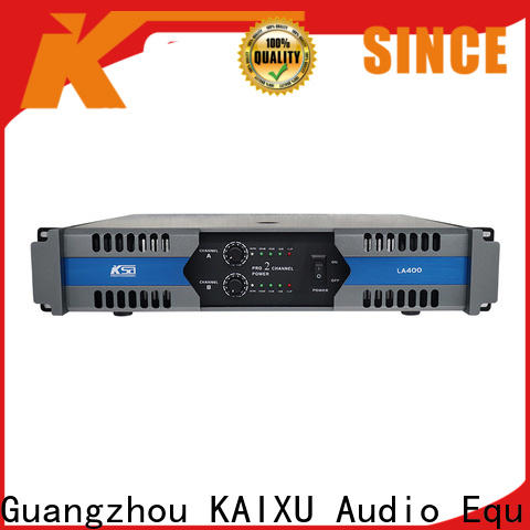 KSA cost-effective stereo pa amp with good price bulk production