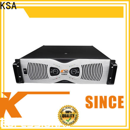 KSA power amplifier class h with good price for stage