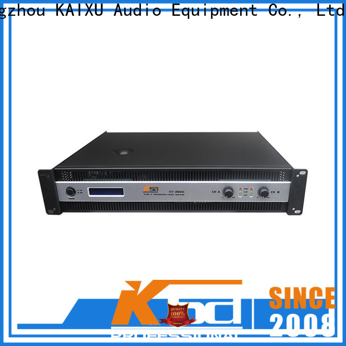 KSA high-quality home theater power amplifier with good price for night club