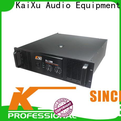 KSA worldwide best pa amplifier factory direct supply for speaker
