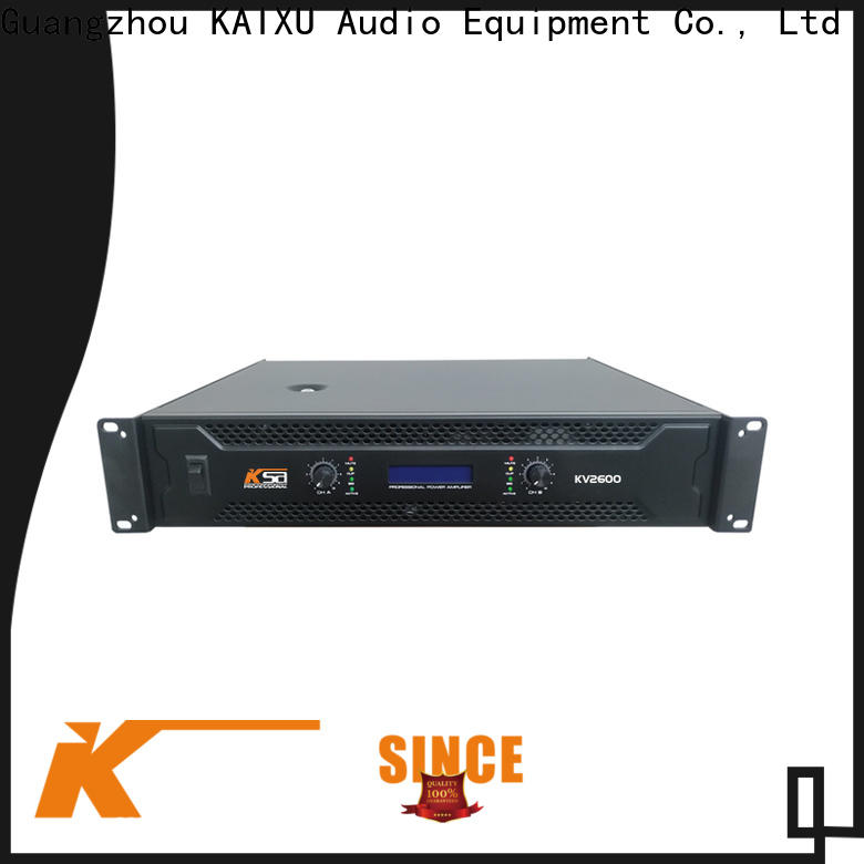 KSA durable amplifier made in china factory