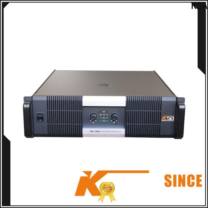 KSA best 2ch power amplifier supplier for bar