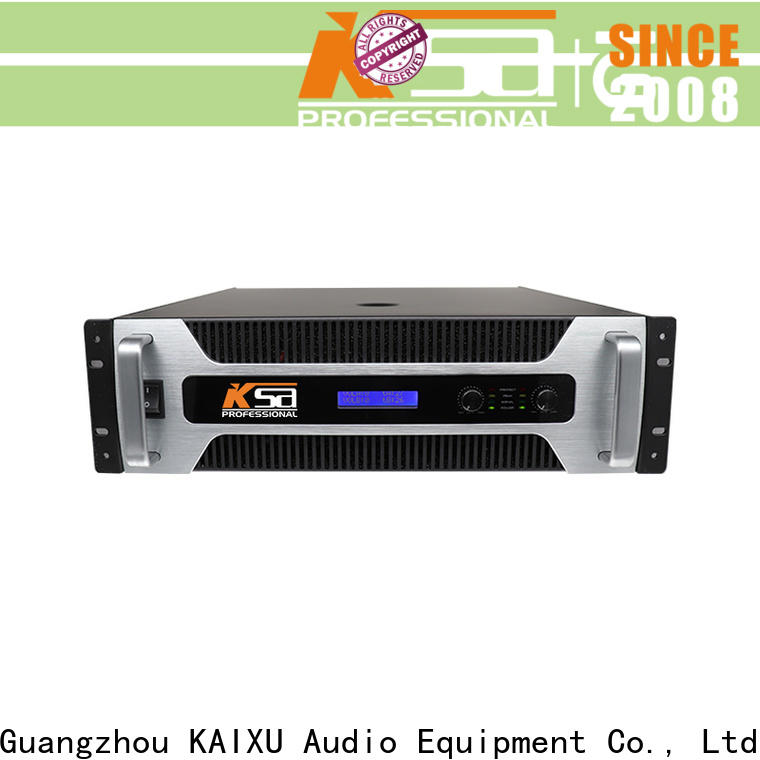 KSA high quality best studio power amplifiers with good price for sale