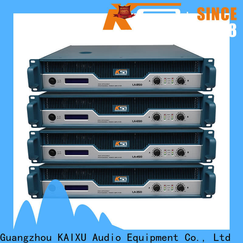 reliable live sound power amp series for club