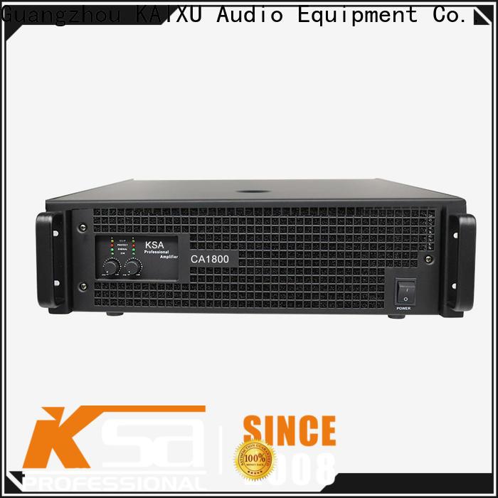 KSA best value class audio amplifiers manufacturer for promotion