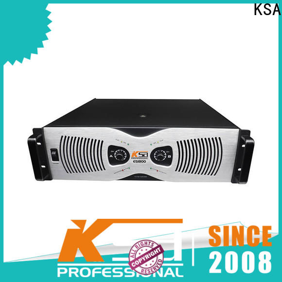 top quality good power amplifier factory direct supply for classroom